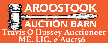 aroostook auction barn